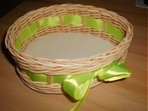Košíky - Vajíčko so zelenou mašličkou - 2396955