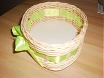 Košíky - Vajíčko so zelenou mašličkou - 2396956