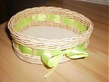 Košíky - Vajíčko so zelenou mašličkou - 2396957