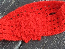 Čelenky - čelenka červená...:) - 2397224
