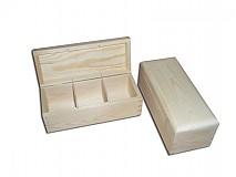 - Krabička na čaje 3 priečinky - 2406610