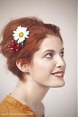 Ozdoby do vlasov - Margarétka by Hogo Fogo - 2411672