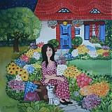 Obrazy - Doma na zahradě - 241636
