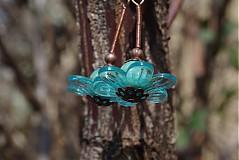 Náušnice - Orient flower (jaspis) - 2421907