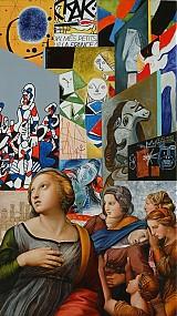 Obrazy - Reprodukcia - Raffaelove svätice v galérii moderného umenia - 2424116