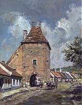 Obrazy - Reprodukcia - Horná brána, Modra - 2431535