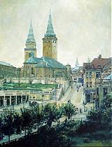 Obrazy - Reprodukcia - Farský kostol - 2431552