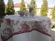 Úžitkový textil - Obrus + kosik - Klasika - - 2435853
