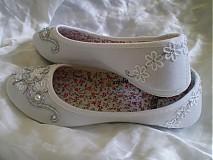 - Launcee - svadobné balerínky - 2442807
