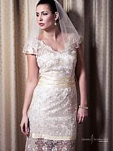 Šaty - VÝPREDAJ Svadobné/ spoločenské šaty Lenka - 2447724