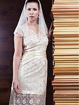 Šaty - VÝPREDAJ Svadobné/ spoločenské šaty Lenka - 2447725