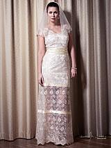 Šaty - VÝPREDAJ Svadobné/ spoločenské šaty Lenka - 2447726
