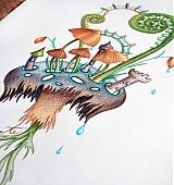 Obrazy - Kráľovstvo hlboko v lese - 2451204