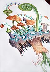 Obrazy - Kráľovstvo hlboko v lese - 2451208