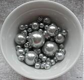Korálky - Vosk.perly MIX4-12mm - 2460881