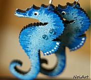 morský koník modrý