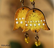 Náušnice - flavis campana - 2465820