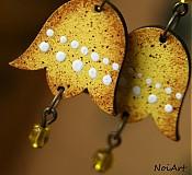 Náušnice - flavis campana - 2465821
