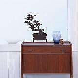 Dekorácie - Jednofarebná Bonsai - dekorácie na stenu - 2467565