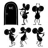 Dekorácie - myší rad - 2468311