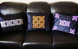 Úžitkový textil - vyšívané ornamenty - 2476672