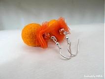 Náušnice - Happy orange - 2477807