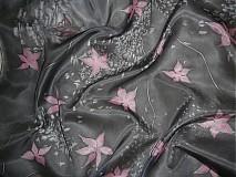 Šatky - Hodvábna šatka Romanca - 248538