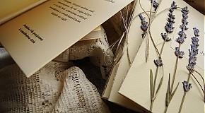 Papiernictvo - LAVENDER DREAMS oznámenia - 2490846