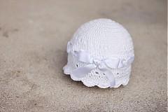Detské čiapky - čiapočka s mašlou - 2497919