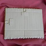 Rámiky - Pletený fotorámik - papierové pletenie - 2499257