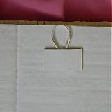 Rámiky - Pletený fotorámik - papierové pletenie - 2499259