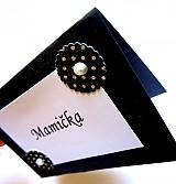 Papiernictvo - Menovky pre gentlemana - 2503420