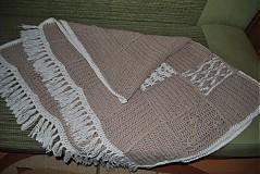 Úžitkový textil - Deka na francúzsky štýl - 2503974