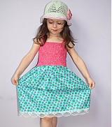 Detské oblečenie - Letné romantické šaty (skladom) - 2504902