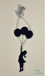 Náhrdelníky - Baloon Girl - 2507391