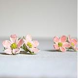 Náušnice - Jabloňové kvítky na ouška - 2508312
