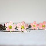 Náušnice - Jabloňové kvítky na ouška - 2508313