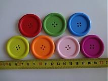- Drevené gombíčky 4cm - 2509058