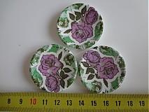 - Drevený gombík ružička 4cm - 2509070