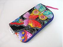 Na mobil - Barevní motýlci - pouzdro na mobil - 2509468