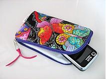 Na mobil - Barevní motýlci - pouzdro na mobil - 2509470