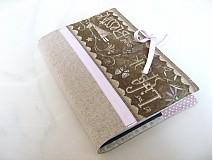 Papiernictvo - Andělínčino čtení a hlídání - obal na knihu, diář. - 2509537