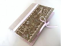Papiernictvo - Andělínčino čtení a hlídání - obal na knihu, diář. - 2509538