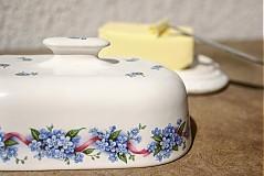 Nádoby - Maselnička - nezábudky - 2517730