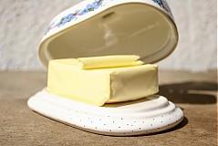 Nádoby - Maselnička - nezábudky - 2517731