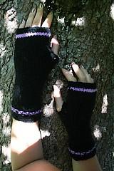 Kurzy - Návod na pletené návleky na ruce** - 2522709