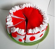 Hračky - Mňamkova torta - 253086
