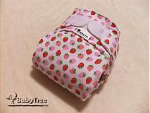 - Jahodová - Novorodenecká nohavičková plienka Natural (veľ. XS-S) + vkladačka  - 2534175