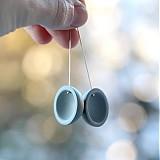 Náušnice - Simple...Grey - 2540496
