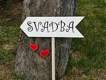 "Tabuľky - Tabuľka ""SVADBA""  - 2544192"